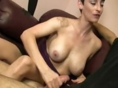 Stripper Ivy Reins Handjobbing