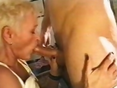 Making out with and getting BJ from aged