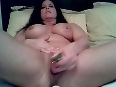 Aged bitch likes being alone so this babe can use her vibrating dildo to fuck her wet twat in this dilettante masturbation clip clip. Watch her treat her twat to a fucking session on her own.