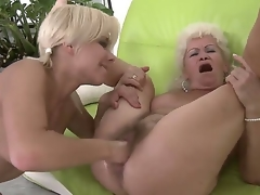 Ardent lesbo act with naughty girlfriends named Effie and Lisa
