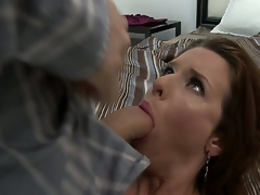 Veronica Avluv would not at any time pass the chance of having a meaty dick in her mouth. That hottie loves getting orally drilled hardcore. James Deen knows this and this chab gives the lustful mama what shes been craving for.