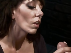 Despairing MILF with massive tits is reduced to an object of want and castigation when that hottie tries to tempt a urinated off and kinky mechanic! Fantastic skillful milf with unfathomable throat!