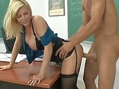 I drilled my teacher Ms. Holly Sampson