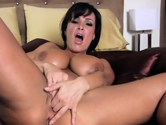 Outstanding breasty bitch Lisa Ann is reforming the whole masturbation genre
