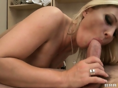 The older sweetheart rides that big wang and her body shivers with pleasure
