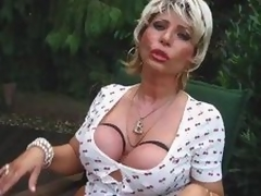 Piss Breasty Blond Mommy Whore Begin proceed And Drag inflate A Locate