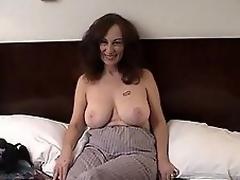 MILF slut acquires indecent with curly man